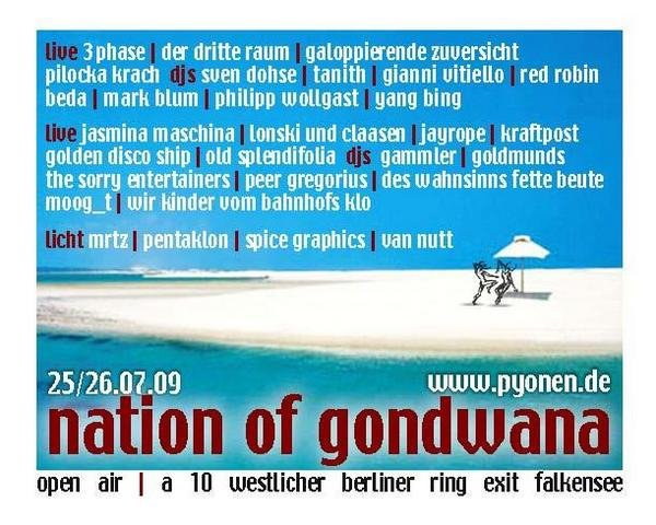 Nation Flyer 2009