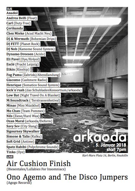 arkaoda berlin lineup